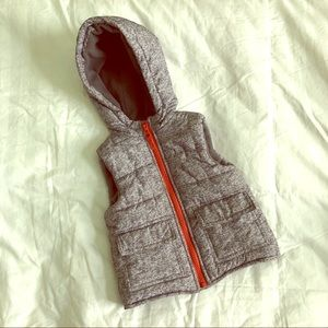 Other - Hooded Puffer Vest | 12 month